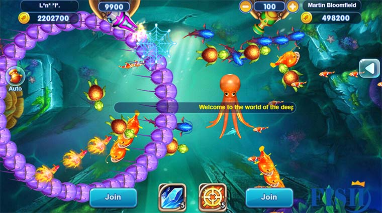 World Fishing Online Fish Tables Game