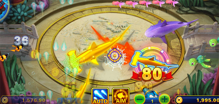 Orient Animals Fishing – Attractive Online Fish Shooting Game