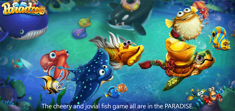 Paradise Fishing Game – Super Attractive Fish Table Games